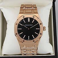 Часы наручные Audemars Piguet ROYAL OAK Gold/Black (реплика)