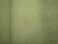 Ткань льняная  зеленая с пропиткой 520 пл. 156 ш.