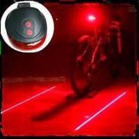Фонарь задний для велосипеда с лазерной линией LBL-05