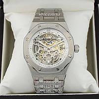 Часы наручные Audemars Piguet ROYAL OAK Skeleton Silver-White (реплика)