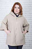 Куртка - толстовка большого размера Мех (3 цвета), женская верхняя одежда больших размеров, дропшиппинг