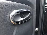 Renault Duster Накладки на внутренние ручки (4шт, нерж.)