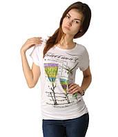 Футболка женская Стрекоза  белая, фото 1