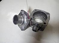 Коробка водяного термостата (корпус) 236-1306052 с патрубком коробки термостата 236-1306053 ЯМЗ-236; 238