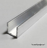 Профиль алюминиевый, швеллер ПАС-1546 19.6х20х1.8 / AS