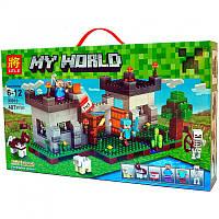 """Конструктор Lele 33010 Minecraft """"Крепость с динамитом"""", 407 деталей"""