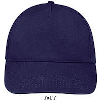 Бейсболка, кепка кобальт SOL'S SUNNY, Франция, 18 цветов, рекламные под нанесение логотипа
