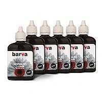 Комплект чернил Barva Canon PG-445 / PG-46, Black, 6 x 90 г (I-BAR-CPG445-6x90-B)