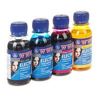 Комплект чернил WWM Epson Electra Black, Cyan, Magenta, Yellow, 100 мл (ELECTR.SET42)