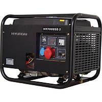 Генератор бензиновый Hyundai HY-7000SE-3