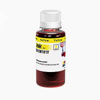 Чернила ColorWay Epson L100/110/200/210/300/355/550, Yellow, 100 мл (CW-EW101Y01)