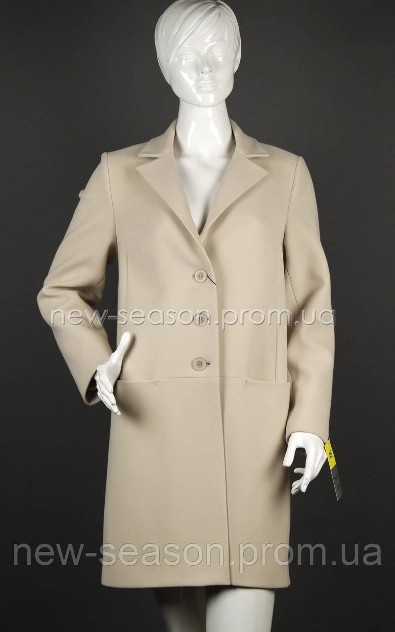 Пальто кашемировое Sergio Cotti 2-472 светлое