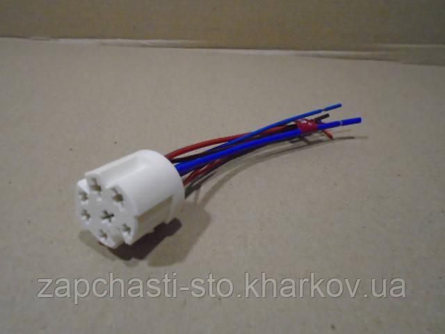 Разъем переключателя скорости режимов обдува печки ВАЗ 1118, 1117, 1119 Калина