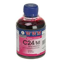 Чернила WWM Canon BCI-24, Magenta, 200 г (C24/M)