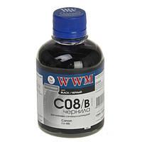 Чернила WWM Canon CLI-8Bk/36, Black, 200 г (C08/B)