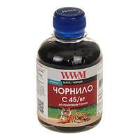 Чернила WWM Canon PG-440/445/80, PGI-450Bk, Black Pigment, 200 г (C45/BP)