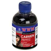 Чернила WWM Canon Universal CARMEN, CLI-8B/36/426B/521B, Photo Black, 200 г (CU/PB)