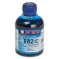 Чернила WWM Epson Stylus Photo P50, PX660, T50, TX650/700, R270/290, Cyan, 200 г (E82/C)