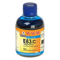 Чернила WWM Epson Stylus Photo P50, PX660, T50, TX650/700, R270/290, Cyan, 200 г, с повышенной светостойкостью (E83/C)