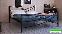 Кровать металлическая Лиана 2  / Liana 2двухспальная 160 (Метакам) 1650х2080х940 мм