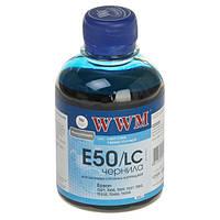 Чернила WWM Epson Stylus Photo Universal, Light Cyan, 200 г (E50/LC)