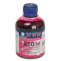 Чернила WWM Epson Stylus Photo Universal, Magenta, 200 г (E50/M)