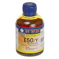 Чернила WWM Epson Stylus Photo Universal, Yellow, 200 г (E50/Y)