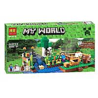 "Конструктор Bela My World ""Ферма"" 10175 (аналог Lego Minecraft 79044) 262 детали"