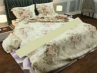 Красивое постельное белье в цветы бязь двуспальное