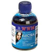 Чернила WWM Epson Universal ELECTRA, C/CX, T/TX, S/SX, B/BX, R/RX, T/TX, P/PX, Cyan, 200 г (EU/C)