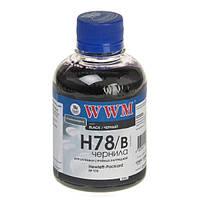 Чернила WWM HP 178, Black, 200 г (H78/B)
