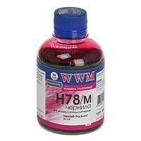 Чернила WWM HP 178, Magenta, 200 г (H78/M)