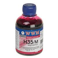 Чернила WWM HP 22/110/121/122/134/135/136/141/901, Magenta, 200 г (H35/M)