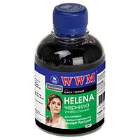 Чернила WWM HP Universal HELENA, 21/27/54/56/121/122/129/130/131/132/140/901, Black, 200 г (HU/B)