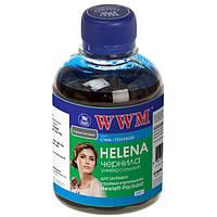 Чернила WWM HP Universal HELENA, 22/28/56/110/121/122/134/135/136/141/901, Cyan, 200 г (HU/C)