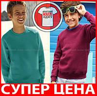 ДЕТСКАЯ ТОЛСТОВКА РЕГЛАН кофта теплая от 3 до 15 лет