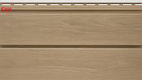 Виниловый сайдинг VOX Панель стеновая плоская Дуб, Бук (0,96 м2)