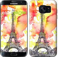 """Чехол на Samsung Galaxy S7 Edge G935F Eiffel """"3048u-257"""""""