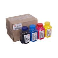 Тонер HP CLJ 1215/1515, B/C/M/Y, черный - 55 гр., цветной - по 40 гр., АНК (1503180)
