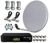 Комплекты спутникового телевидения на Sat-ELLITE.Net