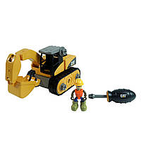 Развивающие и обучающие игрушки «Toy State» (80903) конструктор Экскаватор CAT Machine Maker