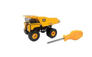 Развивающие и обучающие игрушки «Toy State» (80931) конструктор Самосвал CAT Machine Maker