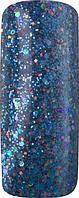 Акриловая пудра цветная для дизайна ногтей 15 гр. Про формула, Цвет:  Синяя Марина, Pro Formula Marina Blue