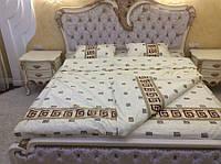 Стильное постельное белье 100 % хлопок оптом и в розницу двуспальное