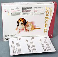 Капли стронгхолд 15 для щенков и котят 2,5 кг 0,25 мл (лиловый) ZOETIS