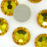 Камни Сваровски SS 3 GOLD Золотые , 100 шт