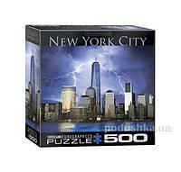 Пазл Нью-Йорк - Всемирный торговый центр, 500 элементов Eurographics 8500-0731