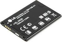 Аккумуляторная батарея ОРИГИНАЛЬНАЯ для LG Optimus L3 Dual, GRAND Premium LG BL-44JN (1 год гарантии)
