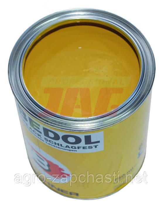 Краска Erbedol Ford-New holland желтая 0,75l от года 1985