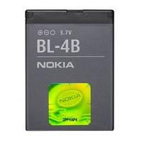 Аккумуляторная батарея ОРИГИНАЛЬНАЯ для Nokia N76, GRAND Premium Nokia BL-4B (1 год гарантии)